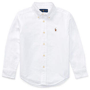 Boys' [2-4] Cotton Oxford Sport Shirt