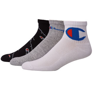 Men's Mixed Logo Ankle Sock (3 Pack)