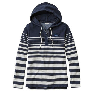 Women's Soft Cotton Rugby Hoodie Pullover Top