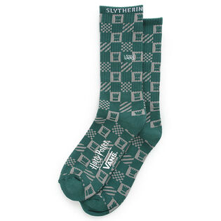 Men's Slytherin Crew Sock (Medium)