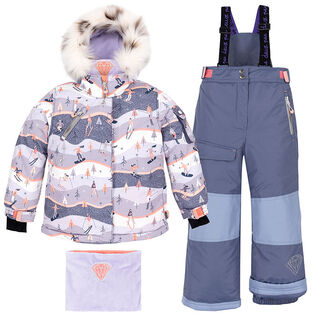 Girls' [2-6] Skiing In Courchevel Two-Piece Snowsuit