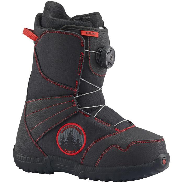 Juniors' [4-6] Zipline Boa® Snowboard Boot