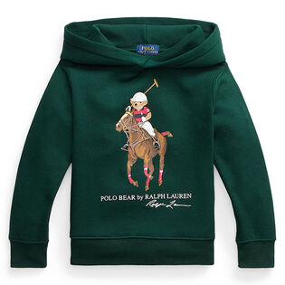 Boys' [2-4] Polo Bear Fleece Hoodie