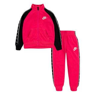 Girls' [2-4T] Taped Tricot Two-Piece Tracksuit