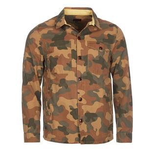 Men's Camouflage Button Through Overshirt