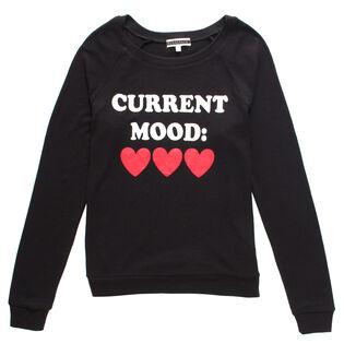 Women's Current Mood Pajama Top