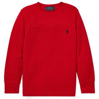 Boys' [2-4] Waffle Knit Crew T-Shirt