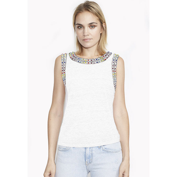 Women's Lucy Crystal Tank Top