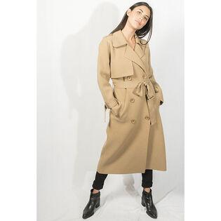 Women's Preston Knit Trench Coat