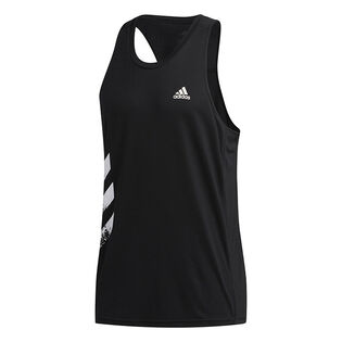 Men's Own The Run 3-Stripes PB Tank Top