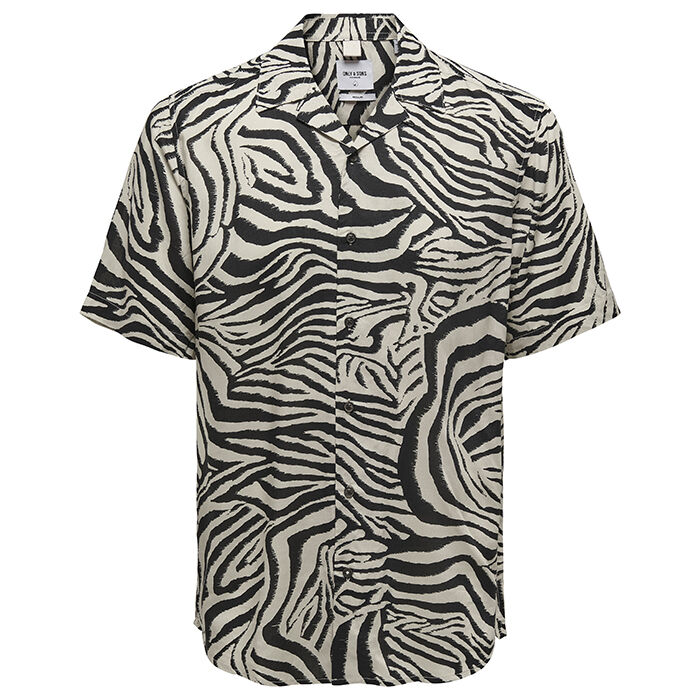 Men's Zebra Print Shirt