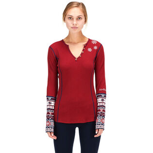 Women's Geilo Thermal Henley Top