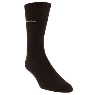 Men's Cotton Rich Flat Knit Crew Sock