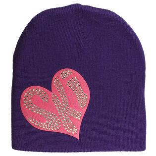 Women's Ski Heart Beanie