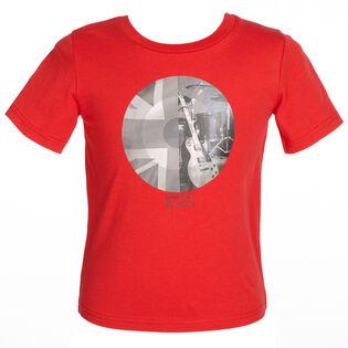 Junior Boys' [8-14] Union Jack Circle T-Shirt