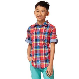 Chemise à carreaux pour garçons juniors [8-16]