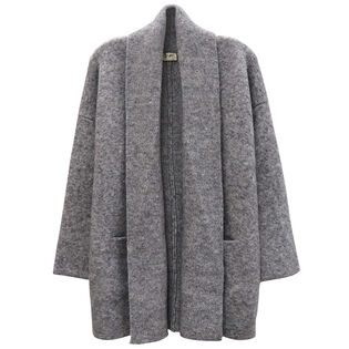 Women's Solid Open Cardigan
