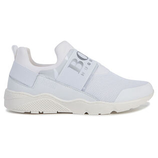 Kids' [11-3] Mesh Logo Sneaker