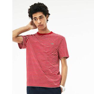 Men's Crew Neck Striped T-Shirt