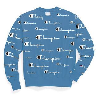 Unisex Reverse Weave® Allover Print Sweatshirt