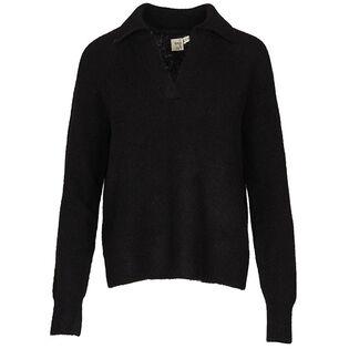Chandail polo en tricot pour femmes