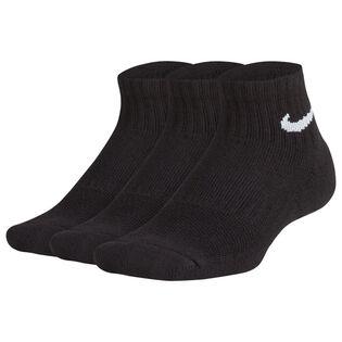 Juniors' [7-16] Performance Cushioned Quarter Sock (3 Pack)