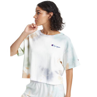 Women's Heritage Cropped Cloud Dye T-Shirt