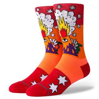 Unisex Ricardo Cavolo Volcano Sock