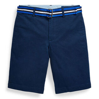 Junior Boys' [8-20] Slim Fit Belted Chino Short