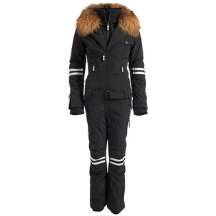 Women's Fur Doll One-Piece Snowsuit