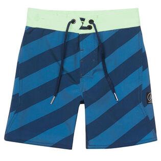 Boys' [2-7X] Stripey Stoneys Boardshort