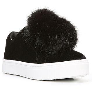 Women's Leya Velvet Fur Sneaker