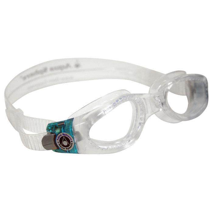 Lunettes de natation Kaiman à lentilles transparentes pour femmes
