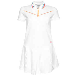 Women's Pleated Tennis Dress Two-Piece Set