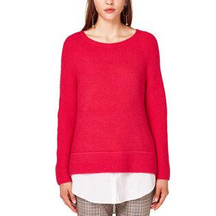 Women's 2-In-1 Wool Sweater
