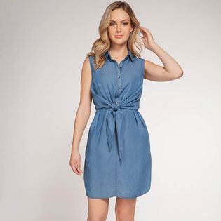 Women's Tie Front Dress