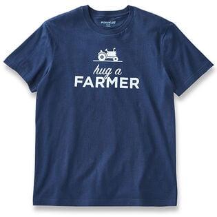 T-shirt Hug A Farmer pour hommes