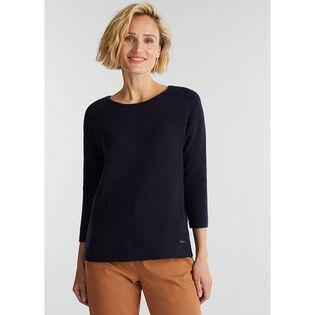 Women's Knit Wool-Blend Sweater