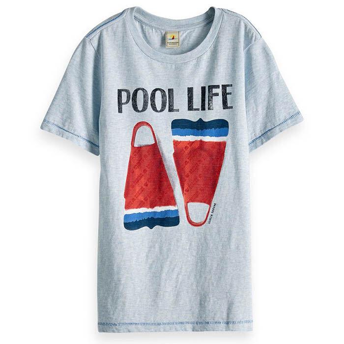 T-shirt à illustration de palmes pour garçons juniors [8-16]