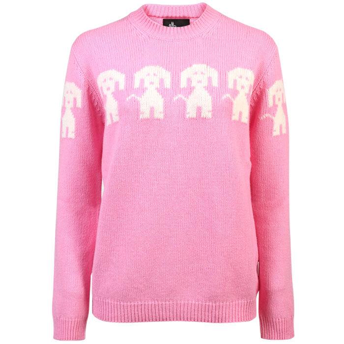 Women's Dog Crew Sweater