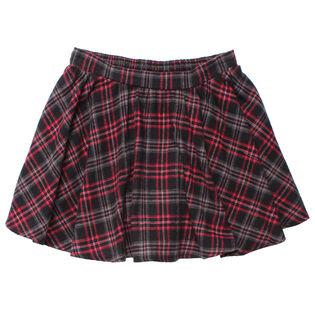 Junior Girls' [7-14] Plaid Skirt