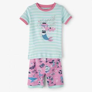 Girls' [2-10] Sweet Mermaid Two-Piece Pajama Set