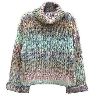 Women's Multi Knit Turtleneck Sweater