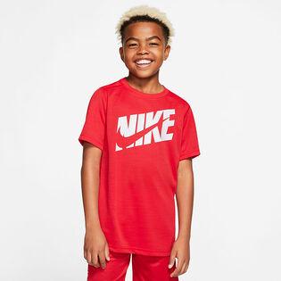 Junior Boys' [8-16] Logo Training T-Shirt