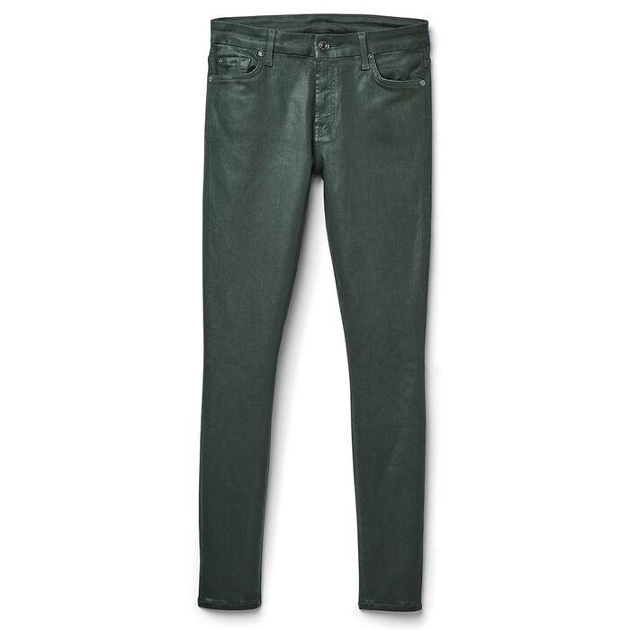 Women's Ankle Skinny Coated Jean