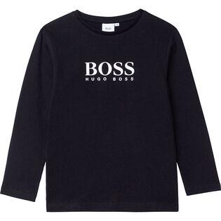 Junior Boys' [4-16] Classic Logo Long Sleeve T-Shirt
