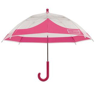 Parapluie bulle Moustache Original pour enfants
