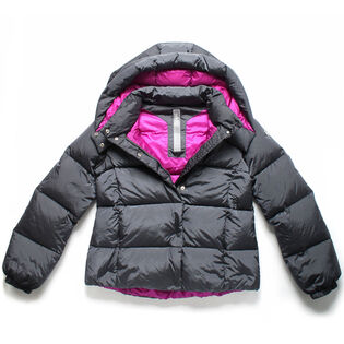 Junior Girls' Bicolour Down Jacket