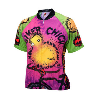 Women's Chick On Bike Jersey