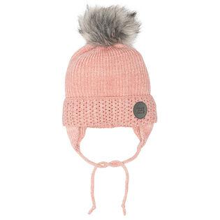 Girls' [2-8] Earflap Knit Hat